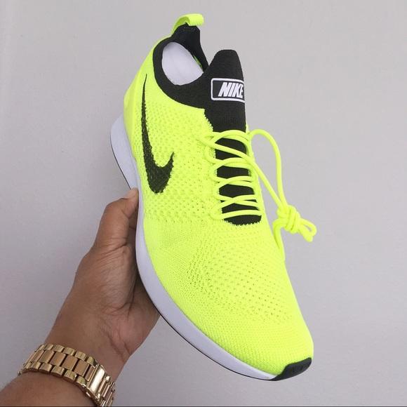 2fcb63885678 Nike Air Zoom Mariah Flyknit Racer Volt Men 11